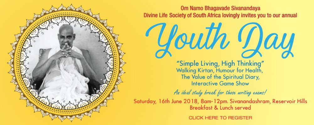 Invite & Registration: Youth Day Programme 2018