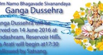 Ganga Dussehra - 14 June 2016