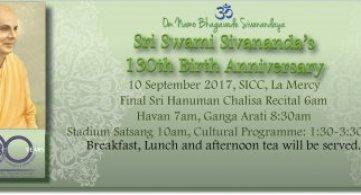 Report: Sri Swami Sivananda's 130th Birth Anniversary Celebrations