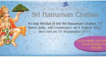 41 Day Sri Hanuman Chalisa Campaign 2017