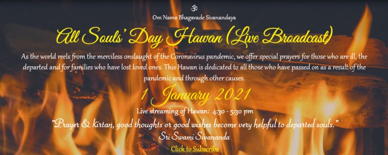 All Souls' Day Hawan - Live Broadcast