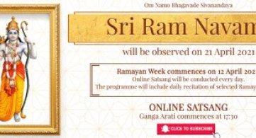 Report: Ramayan Week & Sri Ram Navami 2021
