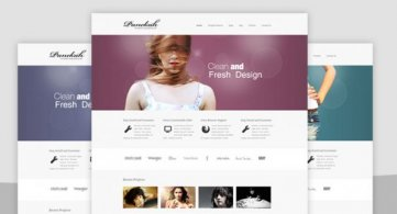 Panekah Photography Joomla Template