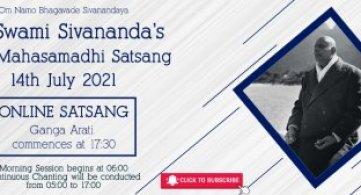 Report: Sri Swami Sivananda's 58th Mahasamadhi Anniversary