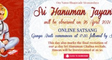 Report: Sri Hanuman Jayanti 2021