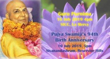 Guru Purnima & Pujya Swamiji's 94th Birth Anniversary