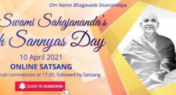Report: Pujya Swami Sahajananda's 65th Sannyas Anniversary