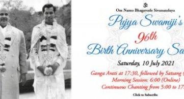 Report: Pujya Swami Sahajananda's 96th Birth Anniversary
